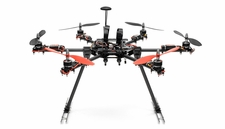 Aerosky C17 Professional UAV Hexacopter 6 Channel  Almost Ready to Fly RC Remote Control Radio