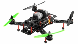 AeroSky QAV 280mm Superlight Carbon Fiber RTF Drone Racing Quadcopter RC Remote Control Radio Quad