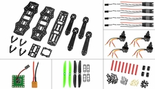 AeroSky QAV ZMR250 Superlight Composite KIT combo