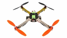 AeroSky Radio Remote Control RC Quadcopter  4 Channel RTF LED  (Yellow)