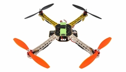 AeroSky    Quadcopter  4 Channel RTF LED  (Yellow) RC Remote Control Radio