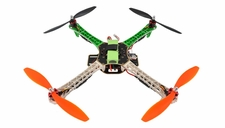 AeroSky Radio Remote Control RC Quadcopter 4 Channel RTF w/ LED (Green)