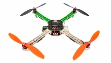 AeroSky RC Quadcopter Drone 4 Channel ARF w/ LED, Motor, ESC, MWC Flight Control Board (Green)