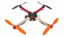AeroSky RC Quadcopter Drone 4 Channel ARF w/ LED, Motor, ESC, MWC Flight Control Board (Red)