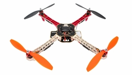 AeroSky  Quadcopter Drone 4 Channel ARF w/ LED, Motor, ESC, MWC Flight Control Board (Red) RC Remote Control Radio