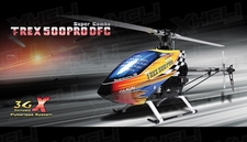 Align RC 6 Channel Helicopter T-REX 500PRO DFC Super Combo RH50E01X ARF