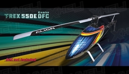 Align RC 6 Channel Helicopter T-REX 550E DFC Combo RH55E02X ARF
