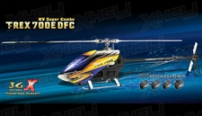 Align RC 6 Channel Helicopter T-REX 700E DFC HV Combo Promotion battery RH70E02X ARF