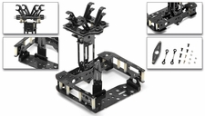 C6 Quad Custom Carbon Fiber Camera Mount