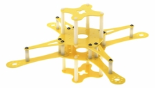 CR4-230 QuadCopter  KIT Airframe (Yellow) RC Remote Control Radio