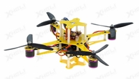 CR4-230 QuadCopter Drone w/ MWC Board Brushless Motor, 12A ESC ARF (Yellow)