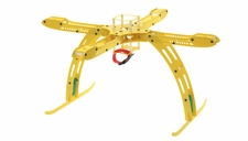 CR4-400 QuadCopter Fiber Glass KIT w/ Camera Mount (Yellow)