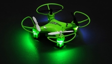 CX Model Nano 2.4ghz 5CH 6 Axis Gyro LED Quadcopter Ready to Fly (Green) RC Remote Control Radio