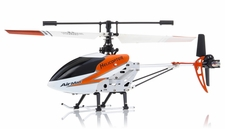 Double Horse 9103 Metal  Helicopter 3 Channel RTF + Transmitter with Gyro (Orange) RC Remote Control Radio