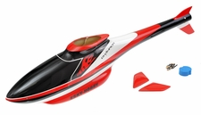 Esky's Scale 450 Size Cabin fabricated with glass fiber Helicopter Fuselage Canopy Red (No Helicopter) EK4-0065R_F3C-ScaleCabin-Red