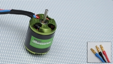 Exceed RC Helium 450 Brushless Motor 2200-3000kv for Trex 450 or compatible RC Helicopters 86MA14-2220-3000KV