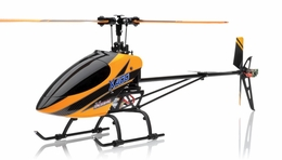 Exceed RC  XH400 FLYBARLESS Metal Edition Helicopter w/ 6CH 2.4Ghz DEVO-7 Transmitter RTF Combo RC Remote Control Radio