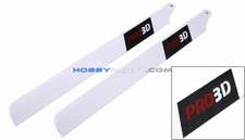 EXI-450 Carbon Fiber Main Blade for Electric 450 RC Helicopter (335mm) EXI-Pro-3351