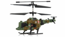 Fire Wolf Infrared RC Mini Helicopter 3 Channel RTF with LED Transmitter (Green)