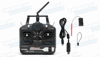 Fly Sky CT6B OEM Version Exceed RC 6-Ch 2.4Ghz Transmitter w/ Receiver (Full Version) for RC Helicopters & Airplanes