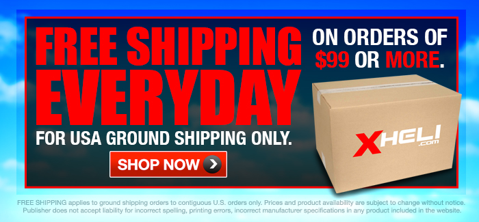 Free Shipping For Orders $99 or More