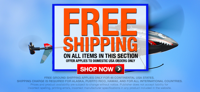 Free Shipping Special for Contiguous United States Customers (Within 48 States).