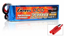 Gens Ace 60C 3300mAh 6 cells Lipo Battery