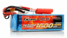 Gens Ace Lipo Battery 40C 1600mah 6 Cells