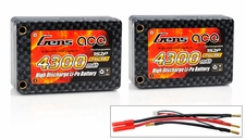 Gens Ace LIPO Battery 4300MAH 30C 7.4V