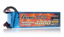 Gens ace LIPO Battery  4800mAh 60-120C 22.2V