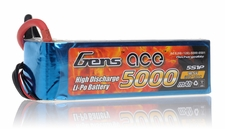 Gens ace LIPO Battery   5000mAh 60-120C 18.5V