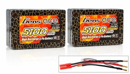 Gens Ace LIPO  Battery 5100mah 25C 7.4V