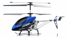 "Hero RC 26"" H853 Newest 3 Channel Outdoor Volitation Metal RC Helicopter w/ Built in Gyro (Blue)"
