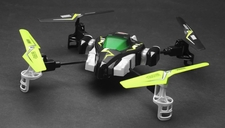 Hero RC H1 X1 Syma Quadcopter Viking Space Ship 2.4Ghz 4 Channel (Lime) w/ Extra Spare Battery and Extra Set of Blades