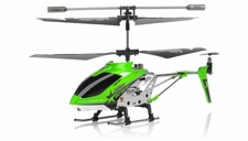 Hero RC H288 Gyro Star RC Remote Control 3 channel Metal Micro Helicopter Genuine and Manufactured by Syma S107/S107G OEM w/ bonus blades, balance bar, connect buckle, tail blade & tail decoration (Green)