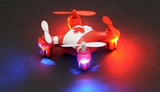 Hero RC  Mini World Canada Micro 2.4ghz 4CH 6 Axis Gyro LED QuadCopter Drone Ready to Fly w/ Headless Mode RC Remote Control Radio