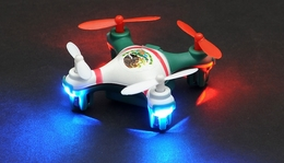 Hero RC  Mini World Mexico Micro 2.4ghz 4CH 6 Axis Gyro LED QuadCopter Drone Ready to Fly w/Headless Mode RC Remote Control Radio