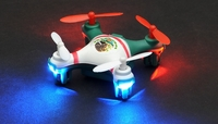 Hero RC Mini World Mexico Micro 2.4ghz 4CH 6 Axis Gyro LED Quad Copter Ready to Fly w/Headless Mode
