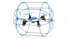 Hero RC Sky Matrix H1306 4 CH RC QuadCopter 2.4ghz 6-Axis Gyro Ready to Fly (Blue) Extra bonus battery