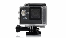 HobbyPartz 720P HD Sport Action Camera w/ Waterproof Case & 2 inch LCD