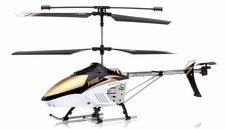 Hokage 3.5 Channel RC helicopter RTF with Gyro + LED Transmitter (Black)