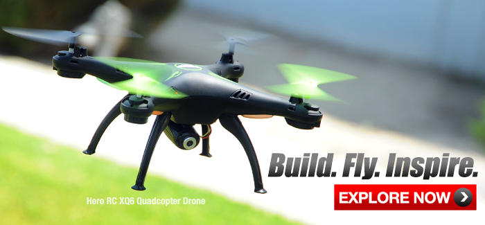 Presenting the New HeroRC XQ6 Quadcopter