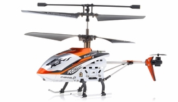 JXD 340 Drift King Infrared RC Helicopter 4 Channel RTF + Transmitter with Gyro (Orange)