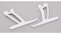 Landing Gear Set with Hardware, White: 350 QX (BLH7815W)