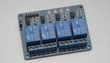 MCU 4 Channel relay expansion board support AVR/51/PIC 4 Arduino Compatible