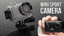 Min Sport Camera w/ WiFi Pro Version HD
