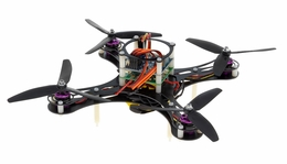 Mini Fly QuadCopter Drone ARF w/ KK Board (Black) RC Remote Control Radio
