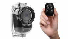 Mini Sport Car Camera w/ Motion Sensor and WiFi HD & Waterproof (Black)