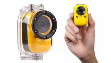 Mini Sport Car Spy Camera w/ Motion Sensor and WiFi HD (Yellow)