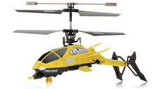 Pantoma 3.5 Channel IR Control Transforming Helicopter with Gyro (Yellow)